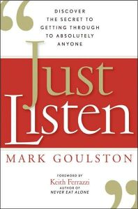 Just Listen book summary