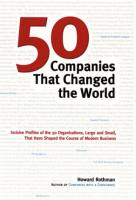 50 Companies That Changed the World book summary