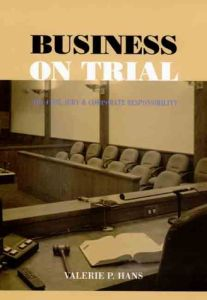 Business on Trial book summary