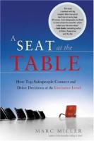 A Seat at the Table book summary