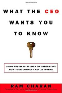 What The CEO Wants You to Know book summary