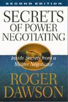 Secrets of Power Negotiating book summary