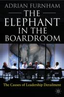 The Elephant in the Boardroom book summary