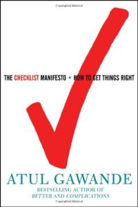 The Checklist Manifesto book summary