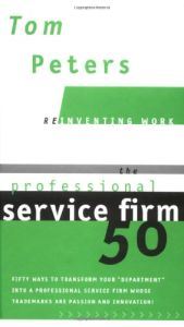 The Professional Service Firm 50 book summary