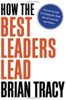 How the Best Leaders Lead book summary