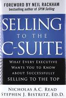 Selling to the C-Suite book summary