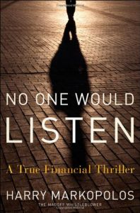 No One Would Listen book summary
