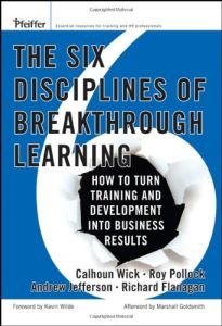 The Six Disciplines of Breakthrough Learning book summary