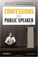 Confessions of a Public Speaker book summary