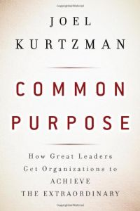 Common Purpose book summary