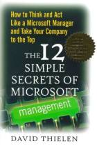 The 12 Simple Secrets of Microsoft Management