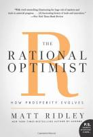The Rational Optimist book summary