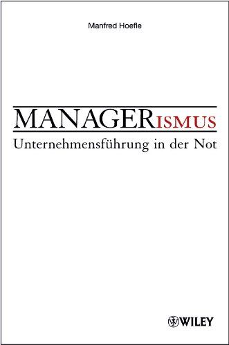Image of: Managerismus