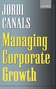 Managing Corporate Growth book summary