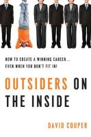 Outsiders on the Inside book summary