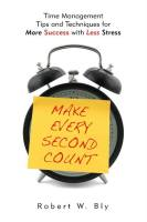 Make Every Second Count book summary