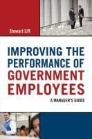 Improving the Performance of Government Employees book summary