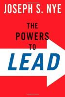 The Powers to Lead book summary