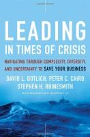 Leading in Times of Crisis book summary