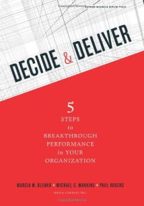 Decide & Deliver book summary