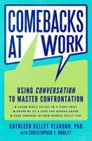 Comebacks at Work book summary