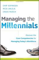 Managing the Millennials book summary