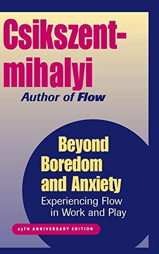 Experiencing Flow in Work and Play Beyond Boredom and Anxiety