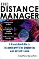 The Distance Manager book summary
