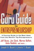 The Guru Guide to Entrepreneurship book summary