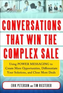 Conversations That Win the Complex Sale book summary