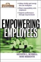 Empowering Employees book summary