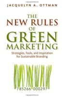The New Rules of Green Marketing book summary