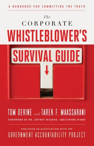 Image of: The Corporate Whistleblower's Survival Guide