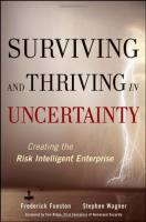 Surviving and Thriving in Uncertainty book summary