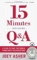 15 Minutes Including Q&A book summary