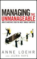 Managing the Unmanageable book summary
