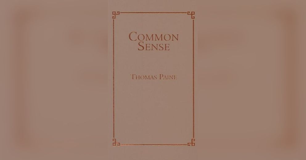 thomas paine common sense analysis essay Thomas paine was an englishman who came to the colonies after meeting ben  franklin within the  thomas paine wrote common sense in 1776 in his own.
