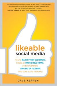 Likeable Social Media book summary