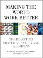 Making the World Work Better book summary
