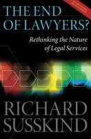 The End of Lawyers? book summary