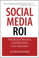 Social Media ROI book summary