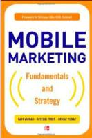 Mobile Marketing book summary