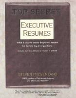Top Secret Executive Resumes book summary