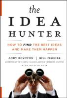 The Idea Hunter book summary