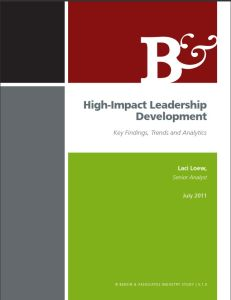 High-Impact Leadership Development (Part 1)  book summary