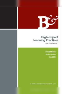High-Impact Learning Practices book summary