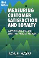 Measuring Customer Satisfaction and Loyalty book summary