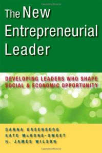 The New Entrepreneurial Leader book summary