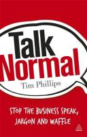 Talk Normal book summary